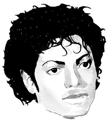 Pour changer un portrait de michael jackson portraits - Dessin de michael jackson ...