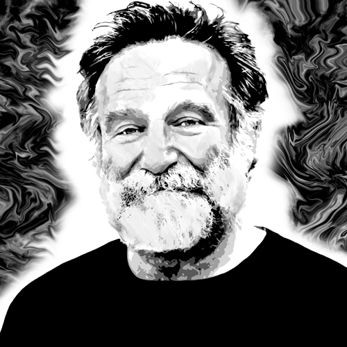 Dessin de Robin Williams